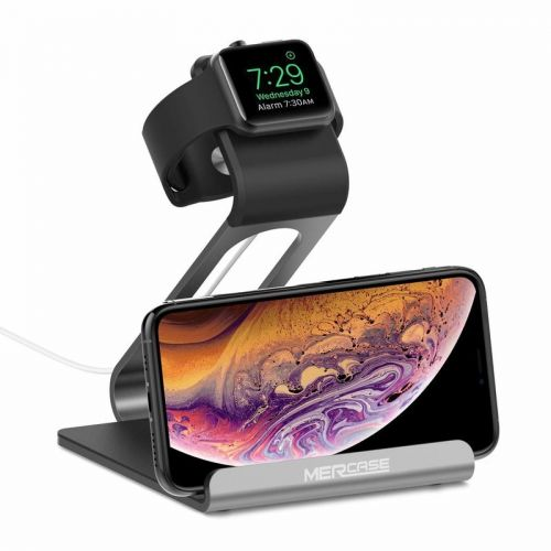 Tidy up your nightstand with this Apple Watch and iPhone charging stand
