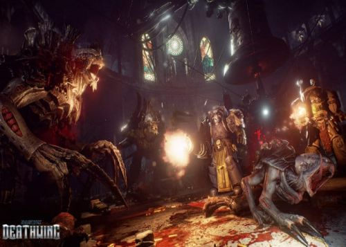 Space Hulk Deathwing Enhanced Edition Launches