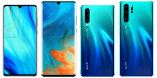 Huawei P30 and P30 Pro leak reveals specs and appearance