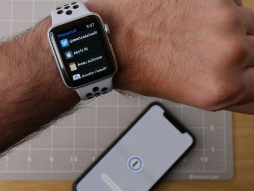 1Password On Your Wrist: How to use 1Password for Apple Watch
