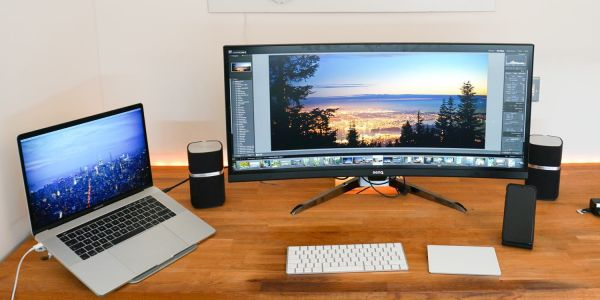MacBook Pro Diary: My dream monitor still doesn't exist, but ultra-wide ones wow me