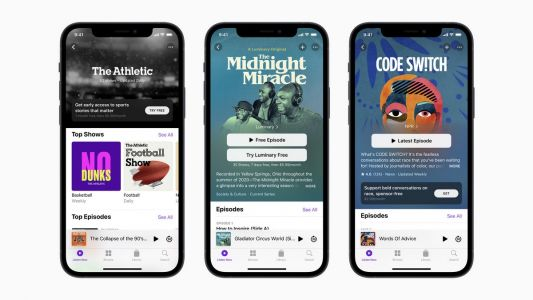 Apple Launches Apple Podcasts Subscription Service