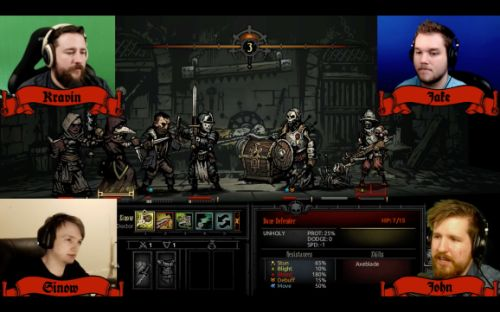 Twitch broadcaster turns single-player Darkest Dungeon into a co-op game
