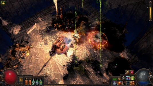 Path of Exile launches on PlayStation 4