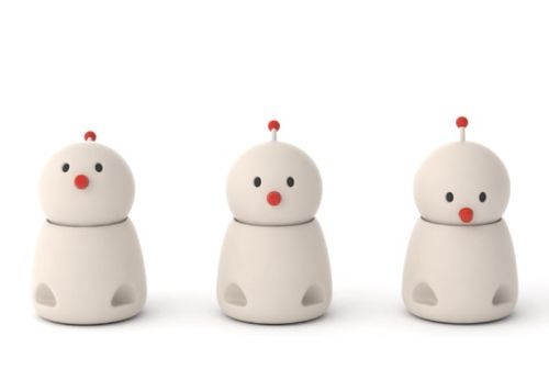 Bocco Emo robot relays the emotional context of messages