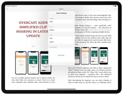 Exporting 101: How to Export Your Sheets from Ulysses on Mac, iPhone, and iPad