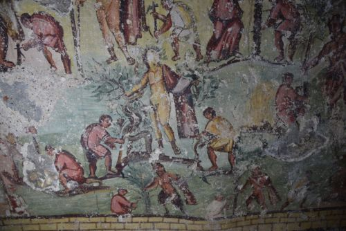 """Ancient """"comic strip"""" depicts the founding of a Roman city"""