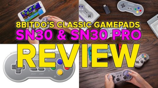 8Bitdo's nostalgic Super Nintendo gamepads are a great way to play