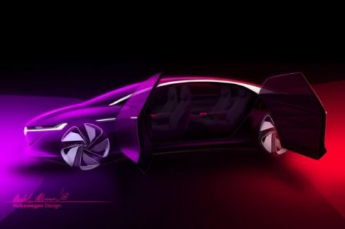 VW's Latest Self-Driving Concept Car Has No Steering Wheel