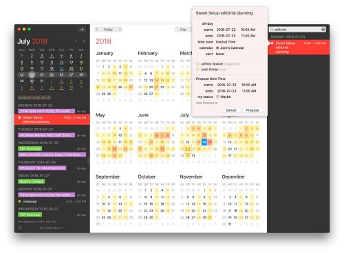 Fantastical 2.5 for Mac introduces Meetup.com support, time change proposals, design improvements, and more