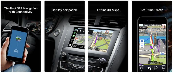 Sygic's 'Car Navigation: GPS & Maps' iOS App Introduces CarPlay Support