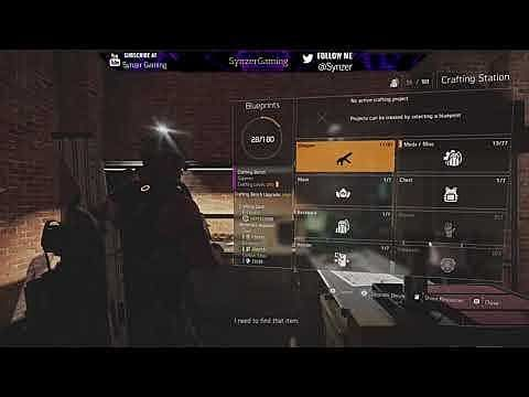 The Division 2 Guide: How to Upgrade the Crafting Bench
