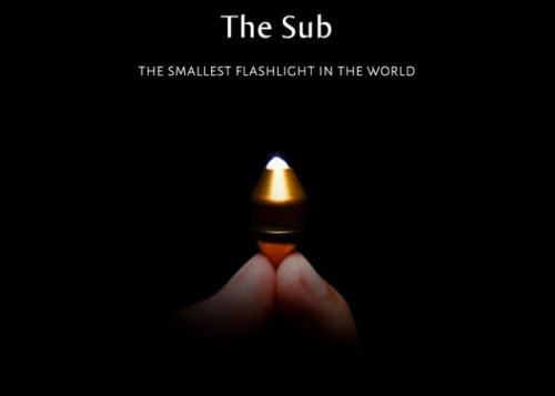 Sub the worlds smallest torch hits Kickstarter from $19