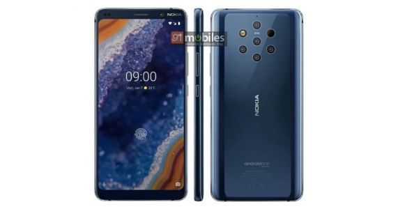 Take A Closer Look At The Nokia 9 PureView Thanks To New Leaked Renders