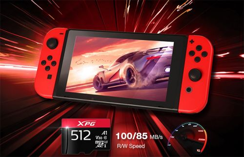 ADATA XPG Launches Gaming microSD Cards, up to 512GB