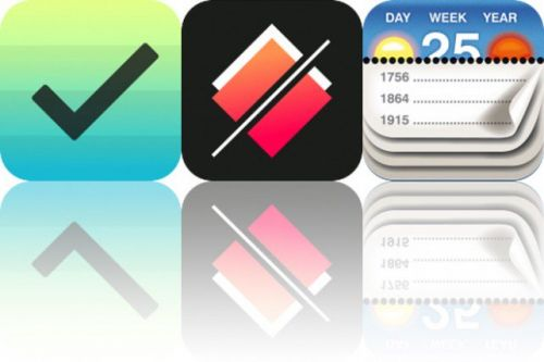 Today's Apps Gone Free: The Hit List, Linia and Calendarium