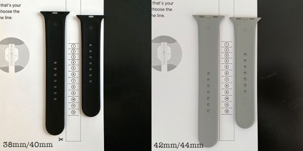 PSA: If you have an Apple Watch Sport Band, here's a better approach to Solo Loop sizing