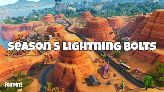 Fortnite Lightning Bolt Locations Guide