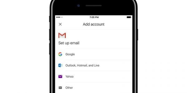 Google Testing Support for Third-Party Email Accounts in Gmail for iOS