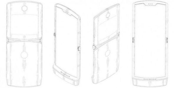 Patent Shows What Motorola's Razr Foldable Phone May Look Like