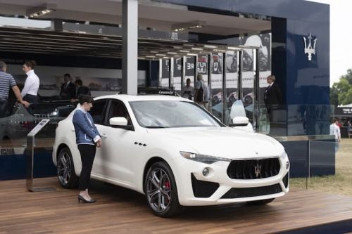 New Maserati Levante GTS Shown Off At Goodwood