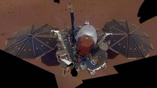 NASA's InSight Lander Sends A Selfie From Mars