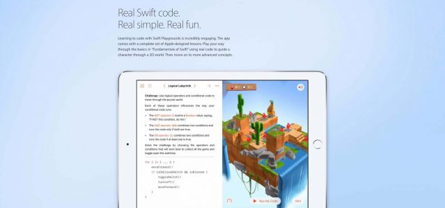 Swift Playgrounds for iPad adds improved third-party content integration, more
