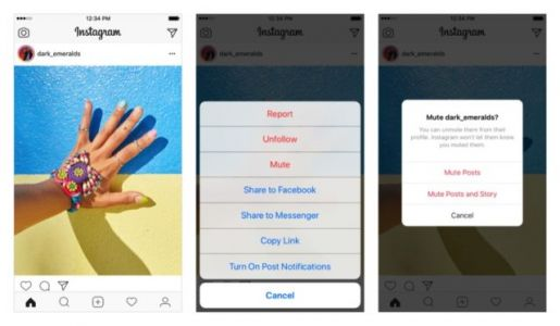 You Can Now Mute Your Instagram Friends