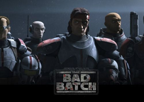 Star Wars The Bad Batch premieres on Disney+ May 4th