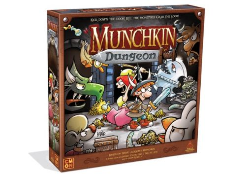 CMON Munchkin Dungeon passes $600,000 on Kickstarter
