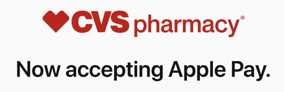 CVS Pharmacy Now Accepting Apple Pay in Stores