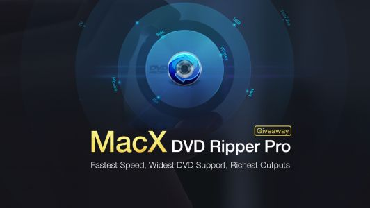 Download 'MacX DVD Ripper Pro' free for a limited time for Cyber Monday