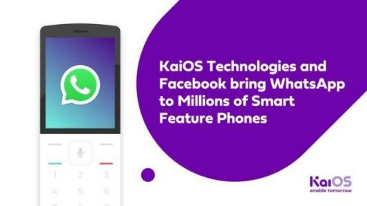 WhatsApp Now Available For KaiOS Feature Phones