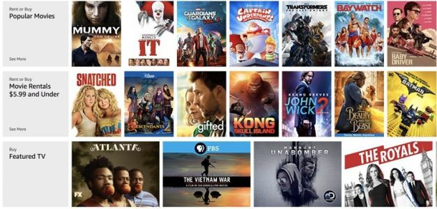 Amazon Drops Prices on 4K Content After Apple Offers 4K for HD Prices