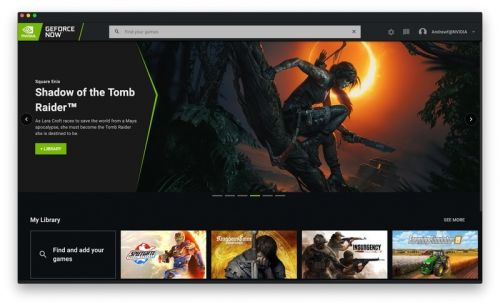 NVIDIA's streamlined GeForce NOW UI makes it easier to find your games
