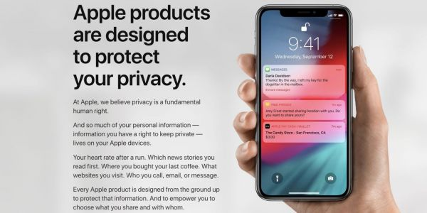 Apple updates Privacy website with new details on iOS 12, macOS Mojave, more