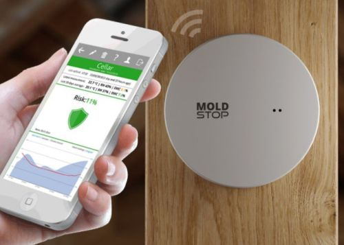 Mold sensor helps reduce mold growth with prediction and monitoring