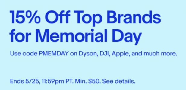 Deals: eBay 15% Off Memorial Day Coupon, Anker and Koogeek Amazon Sales, and More