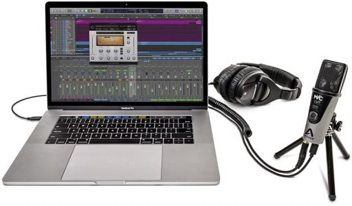 Apogee and IK Multimedia Launch New MiC Plus and iRig Mic HD 2 Digital Microphones for Mac, iPad, and iPhone