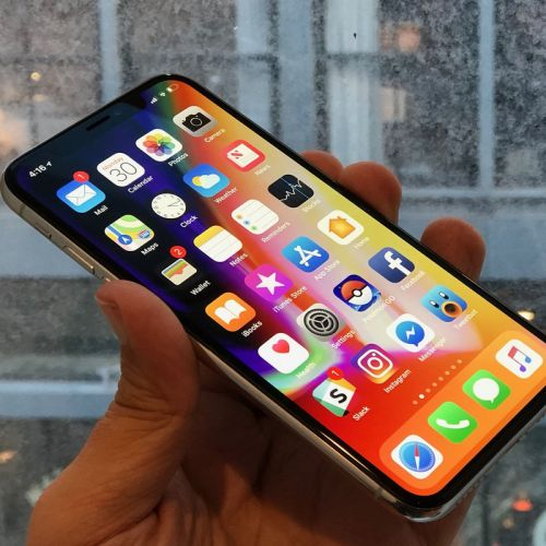 Go edge-to-edge with a refurbished iPhone X from just $725