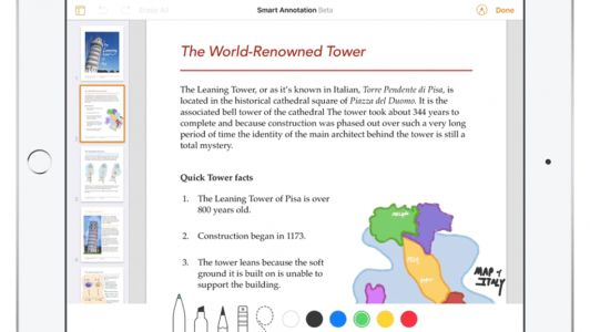 An Apple Pencil Compatible Version of the iWork Suite is Coming