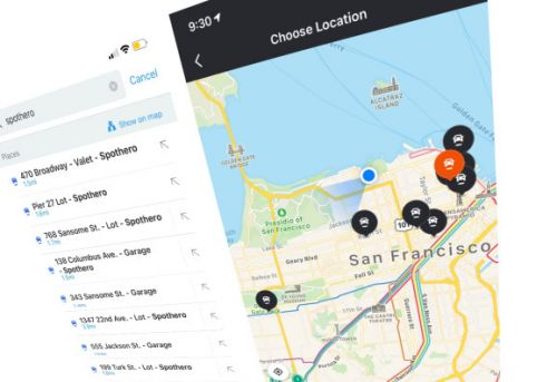 Moovit taps SpotHero to show parking spots in multi-modal transit app