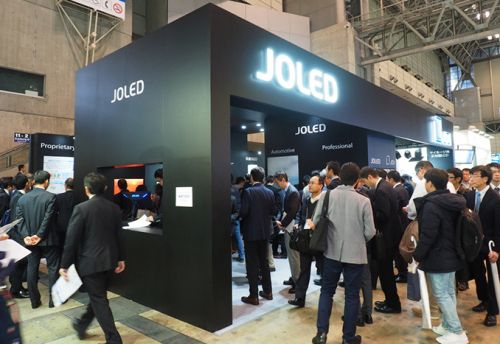 JOLED Demos 21.6-Inch OLED Monitor for Gamers