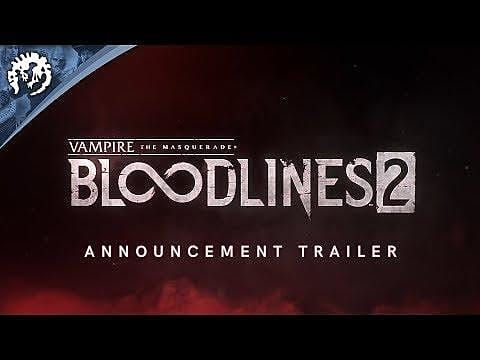 Paradox Announces Vampire: The Masquerade Bloodlines 2