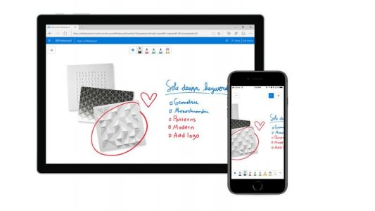 Microsoft Whiteboard for iOS gets first batch of features since launch