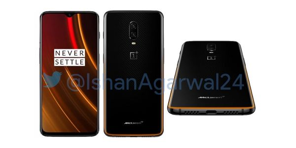OnePlus 6T McLaren Edition leaks w/ 10GB RAM, Warp Charge 30 fast charging, Speed Orange finish