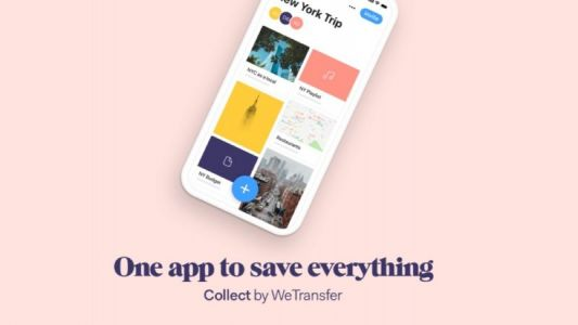 WeTransfer Relaunches Mobile File-Sharing App as 'Collect'