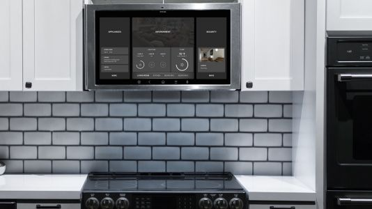 GE's next smart home appliance? A giant tablet for your kitchen