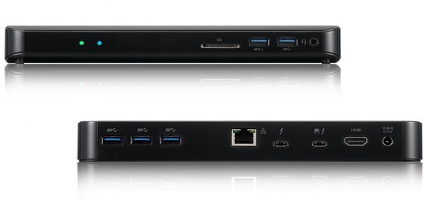 Promise Launches TD-300 9-in-1 Thunderbolt 3 Dock: GbE, HDMI, USB 3.0, TB3 Charging & More