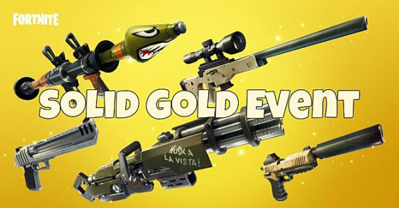 Fortnite Solid Gold Limited Time Event Guide